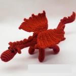 Фото 18: Красный дракон крючком