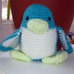 Вязаный пингвинчик