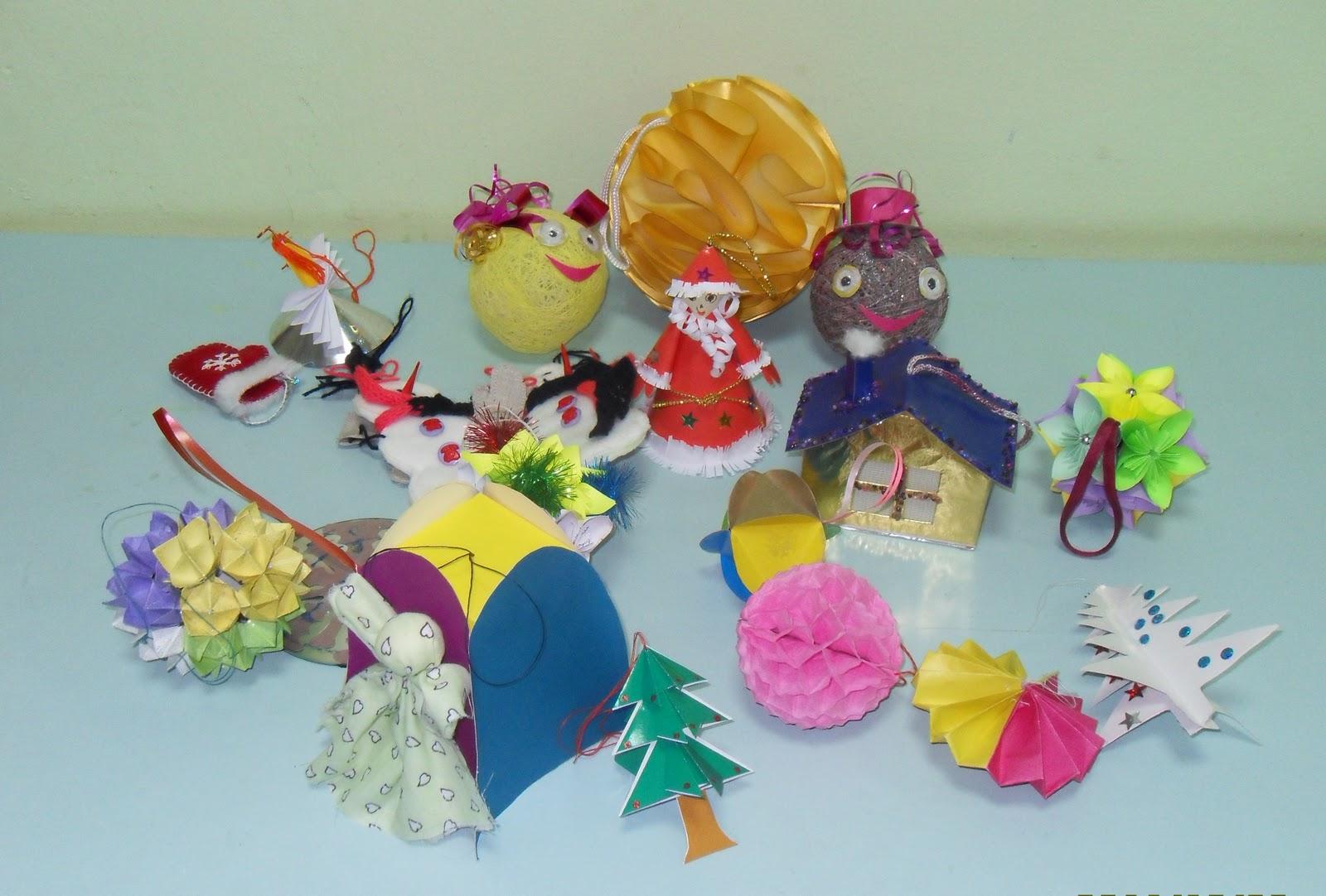 Игрушки из разных материалов своими руками