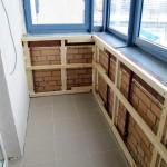 Фото 12: Как утеплить балкон своими руками (12)