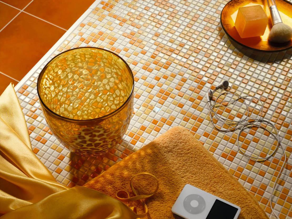 Мозаичная плитки своими руками