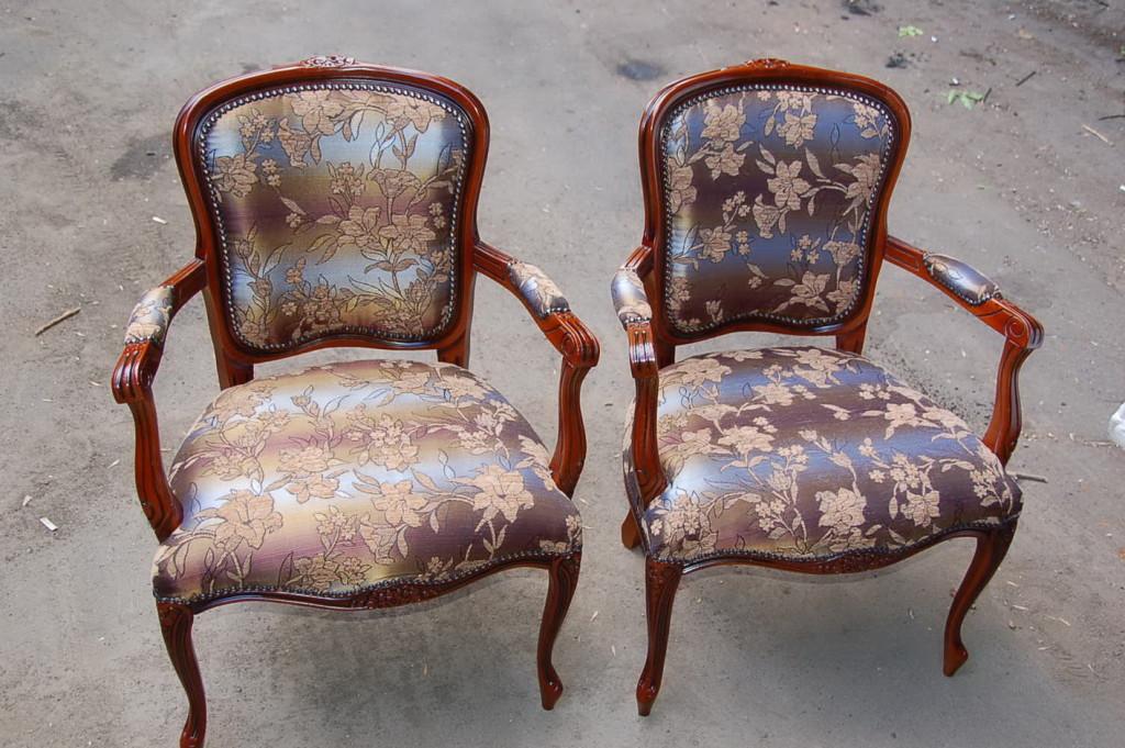 Кресло после ремонта