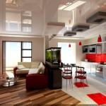 Фото 20: Кухня, совмещённая с гостиной (3)