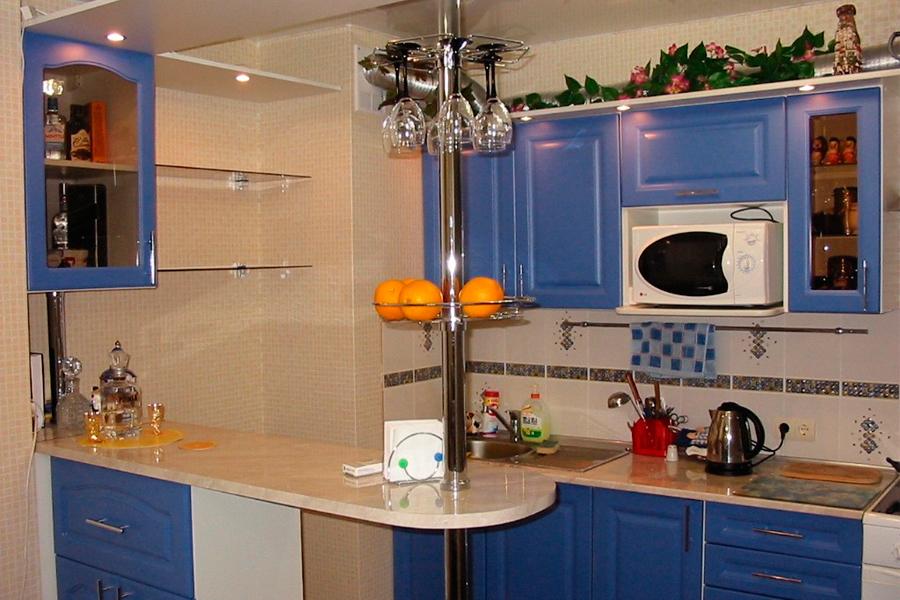 Дизайн кухни с барной стойкой цена
