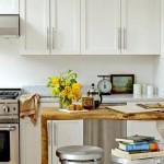Фото 25: Кухонный гарнитур для маленькой кухни белый