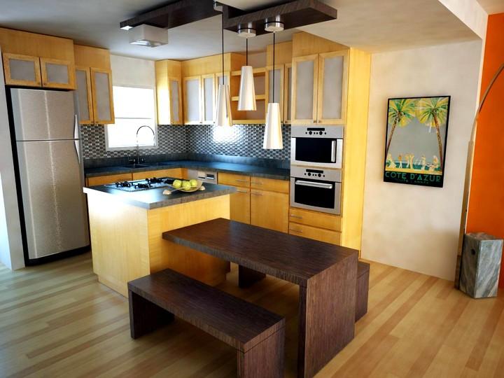Кухонный гарнитур для маленькой кухни (2)