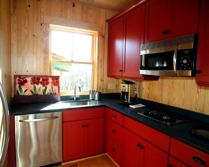 Кухонный гарнитур для маленькой кухни (4)