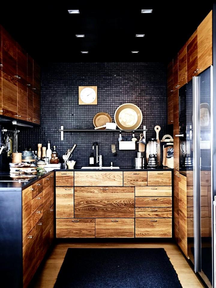 Кухонный гарнитур для маленькой кухни (8)