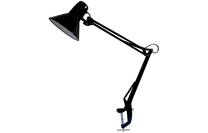 Лампа настольная на струбцине
