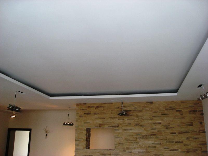 Потолок из гипсокартона фото своими руками фото
