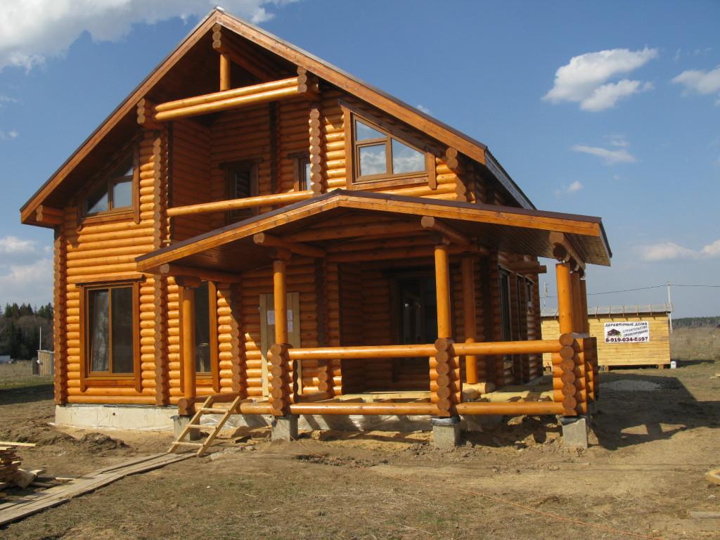 Надежный деревянный дом