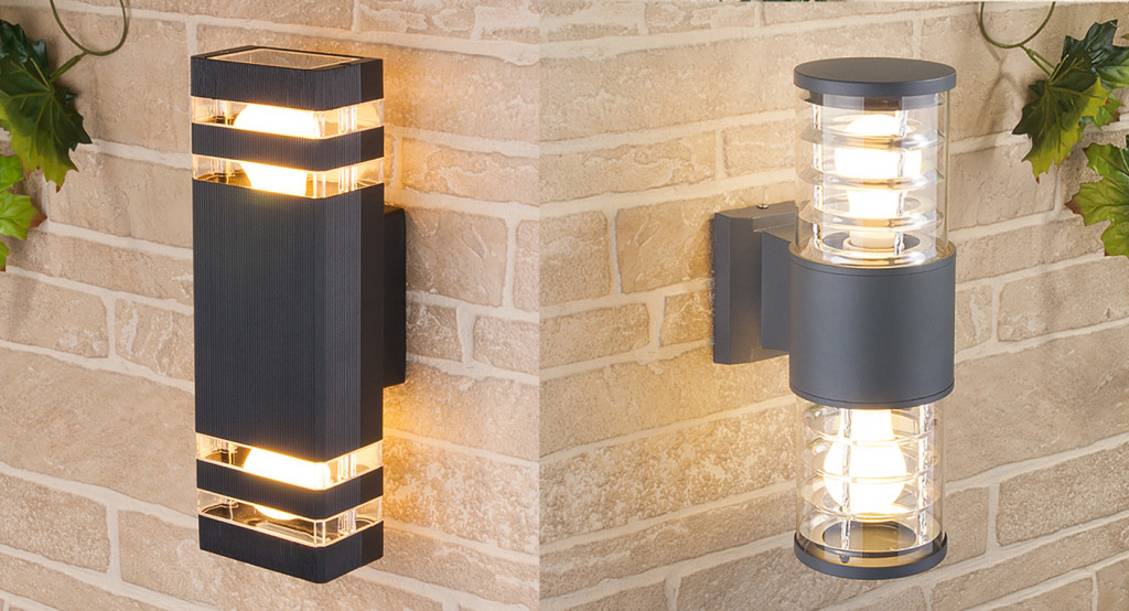 Настенные светильники уличного применения
