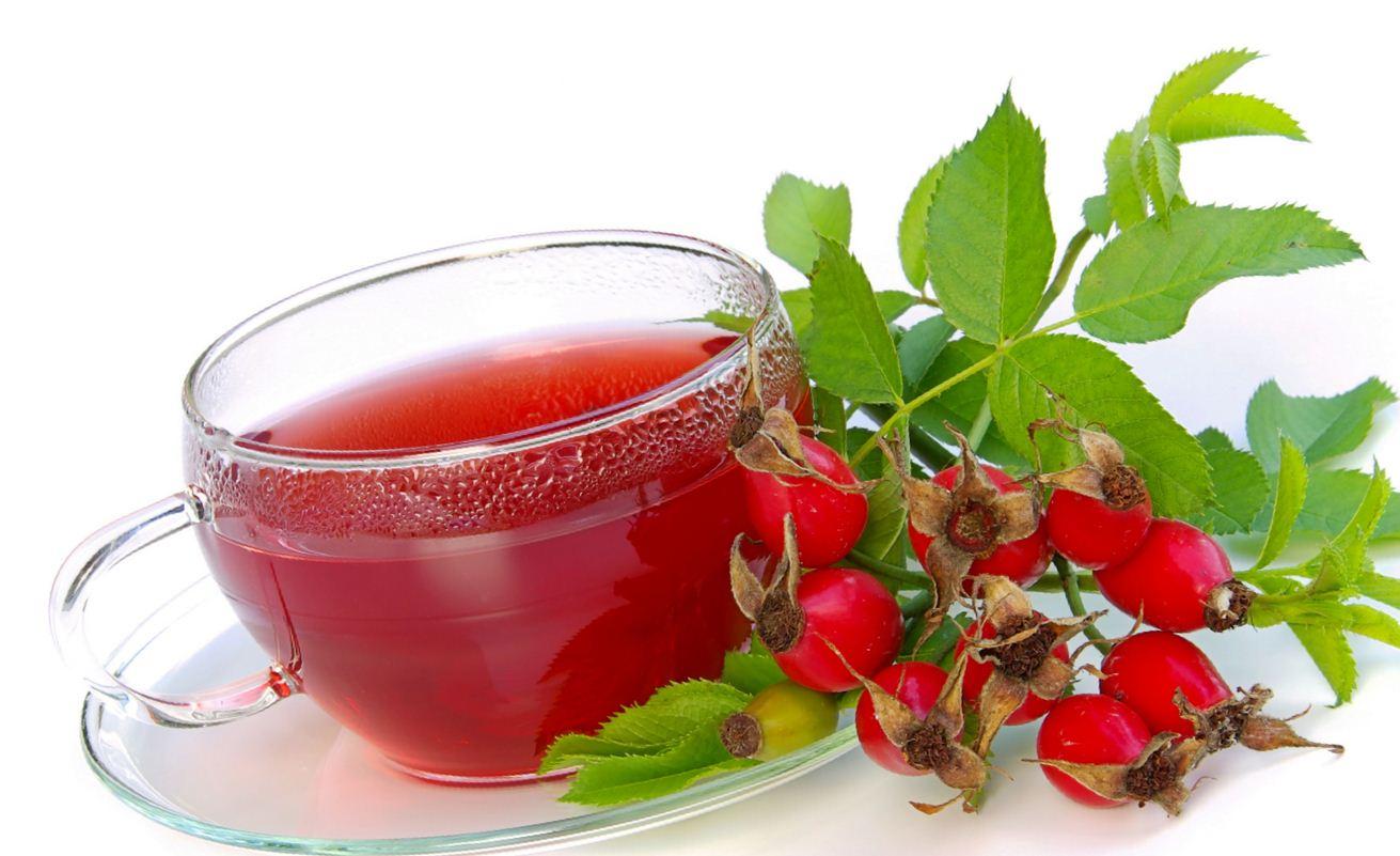 Настойка на ягодах шиповника