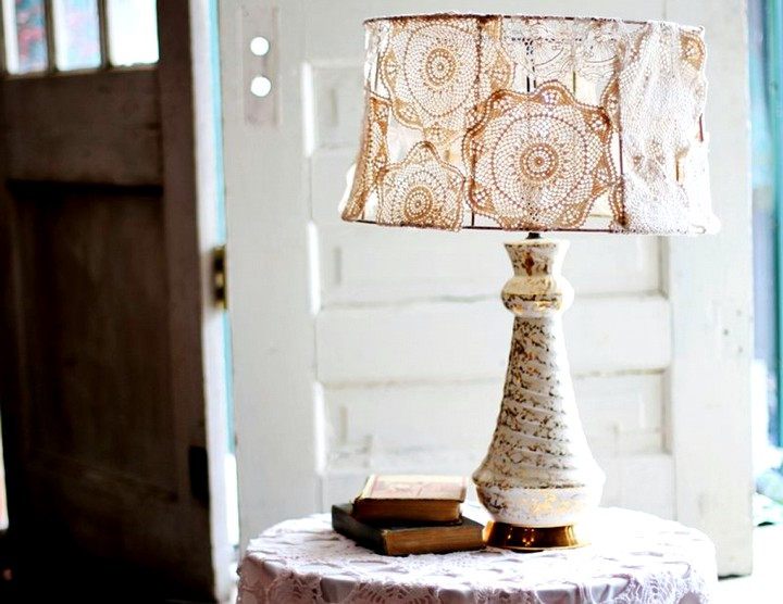 Настольная лампа своими руками (8)