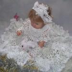Фото 19: Костюм снежинки для малышки
