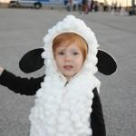 Фото 25: Костюм овечки для девочки