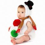 Фото 9: Костюм снеговика для самой маленькой