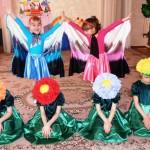 Костюм бабочки для девочки своими руками 28
