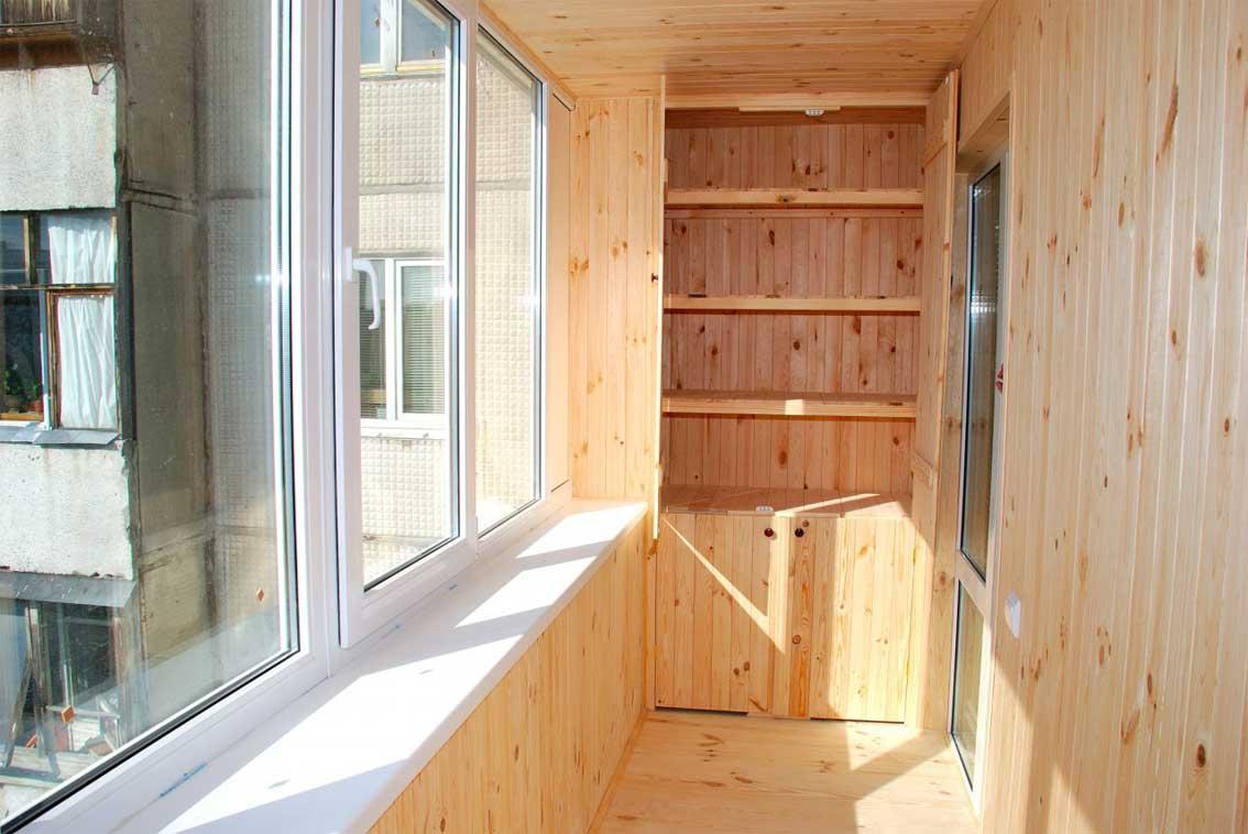 Виды отделки балкона фото