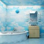 Фото 12: Пластиковые потолки в ванной (4)