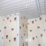 Фото 17: Пластиковые потолки в ванной (9)
