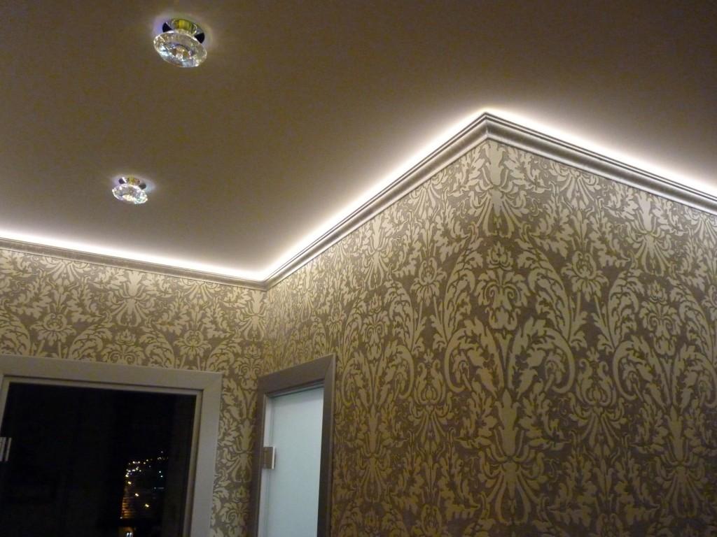 Потолок в коридоре своими руками Строительный портал