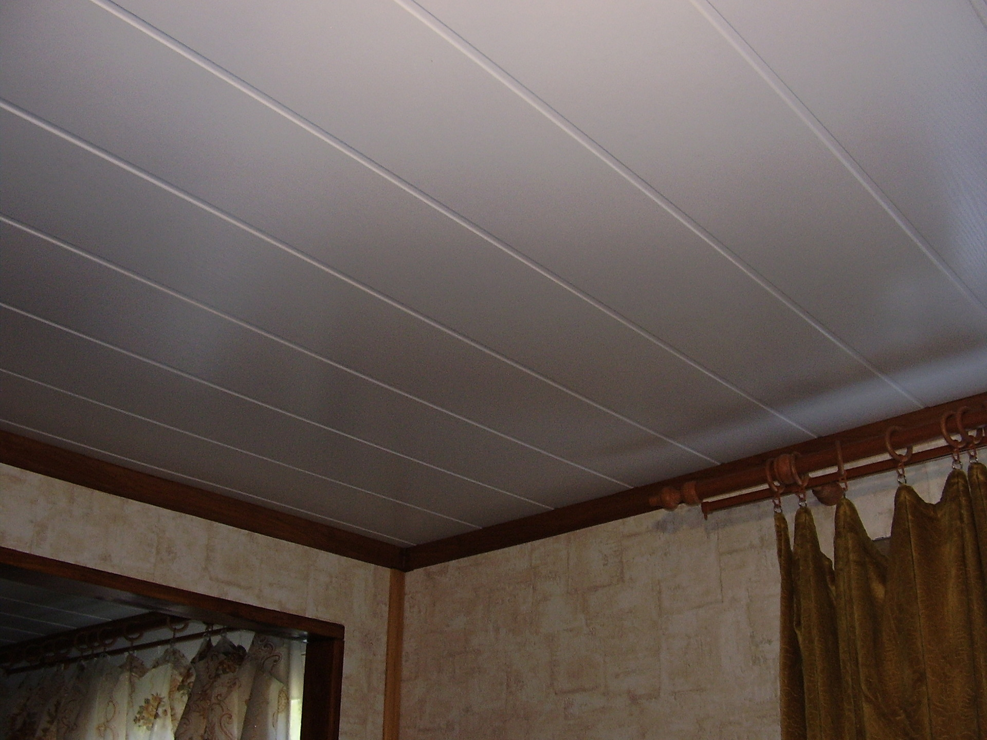 Пвх потолок своими руками фото 739