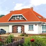 Фото 12: Проект дома с гаражом и мансардой (13)