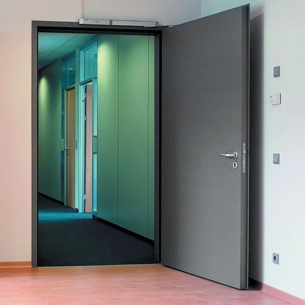 Прочная железная дверь