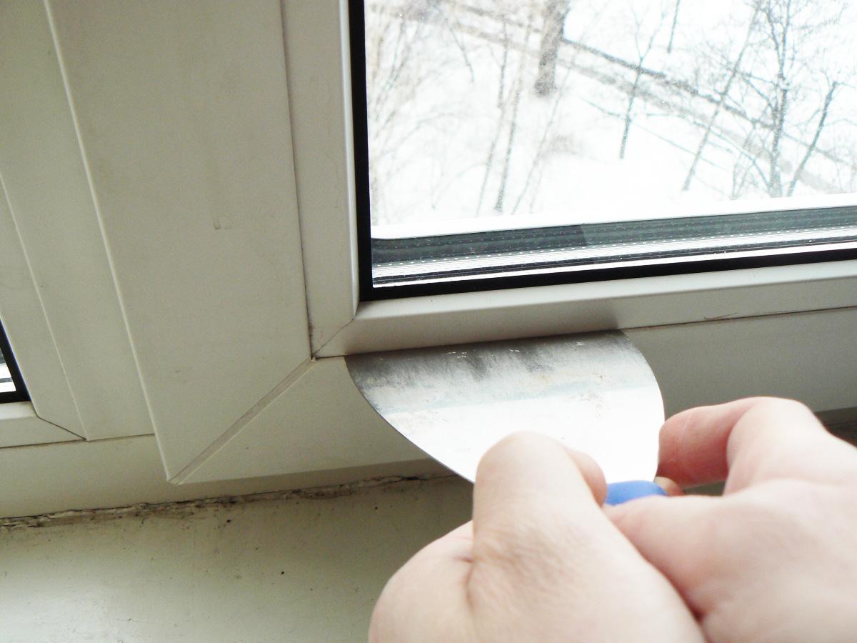 Как снять стекло из пластикового окна своими руками 607