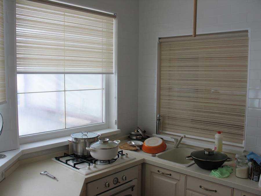 Рулонные шторы на пластиковые окна: идеи 2016.