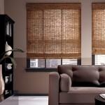 Фото 8: Рулонные шторы из бамбука