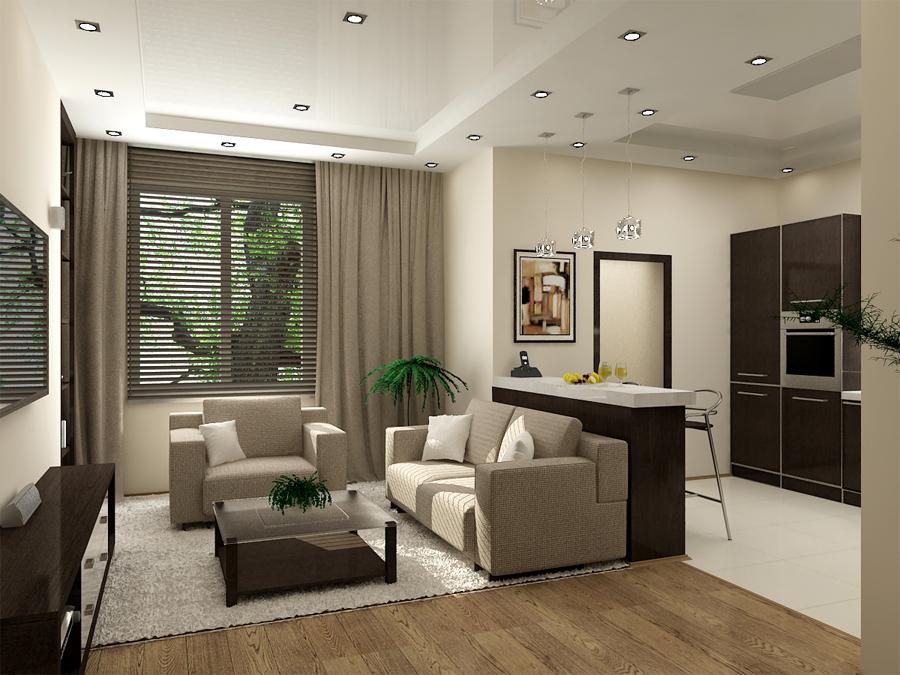 Гостиная с двумя окнами интерьер и дизайн меблировка