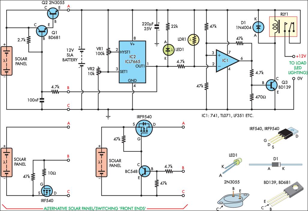 Контроллер заряда солнечный своими руками