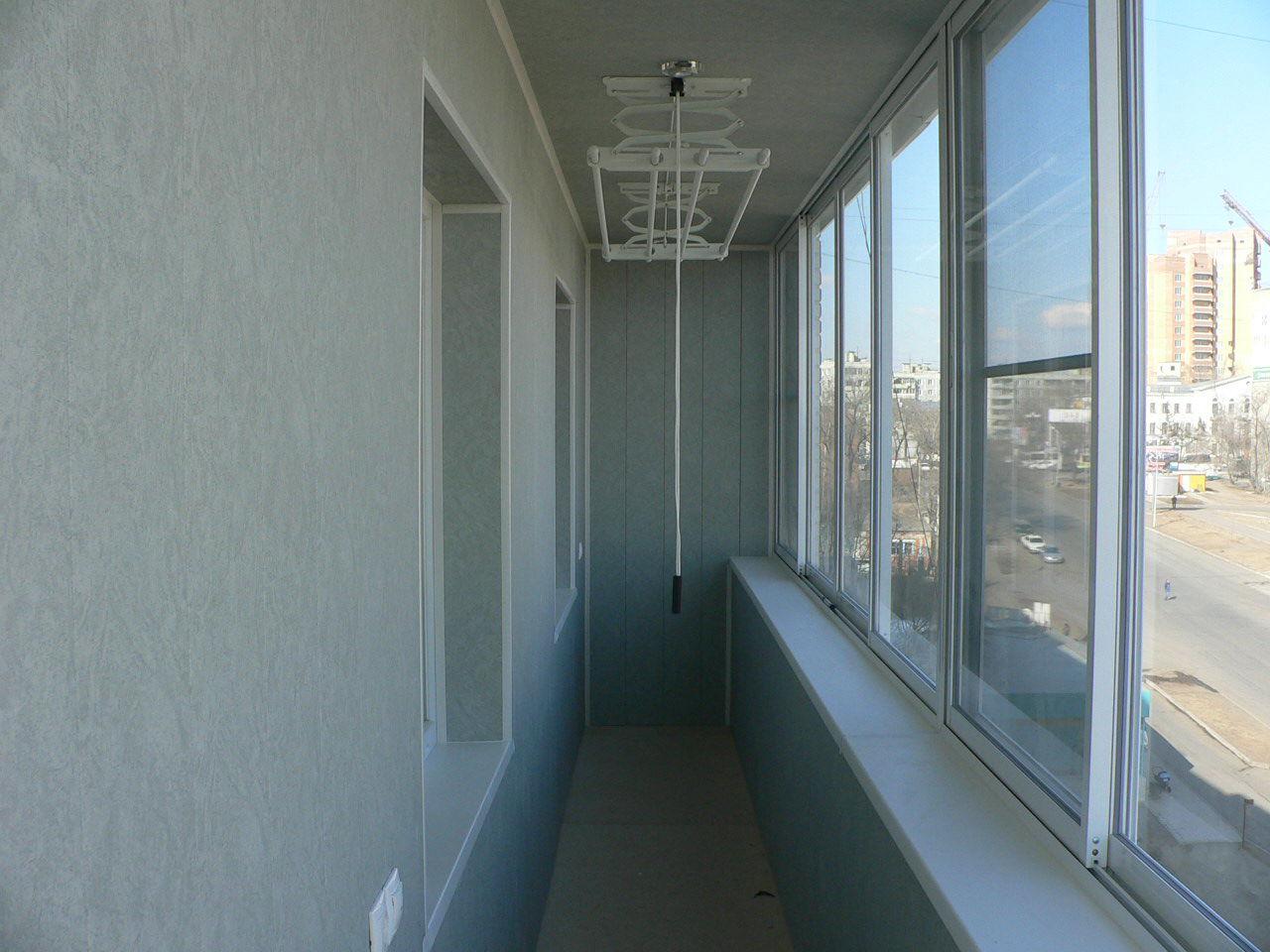 Сушилка для белья потолочная на балкон.