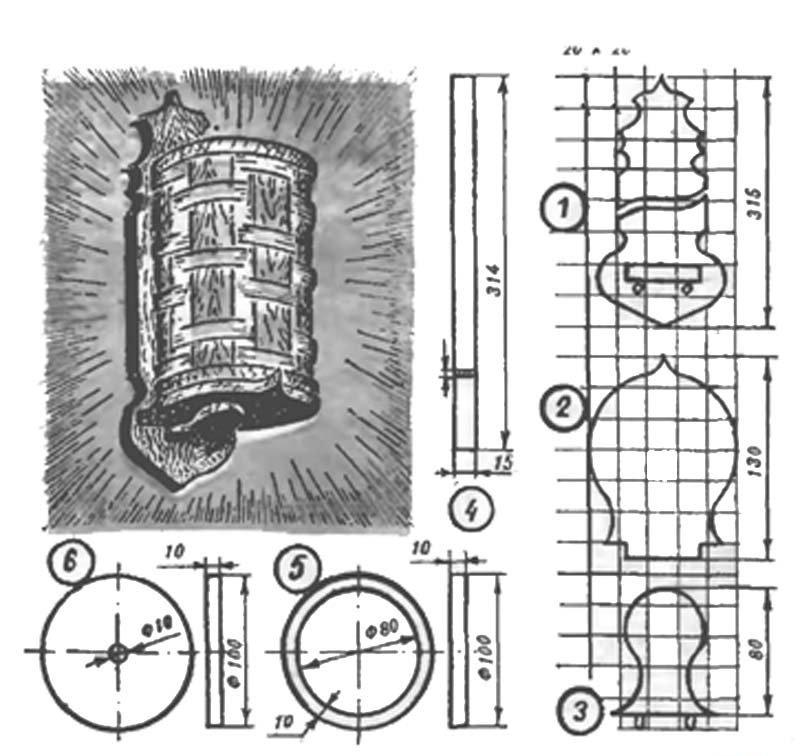 Как сделать самодельный светильник-ночник из фанеры