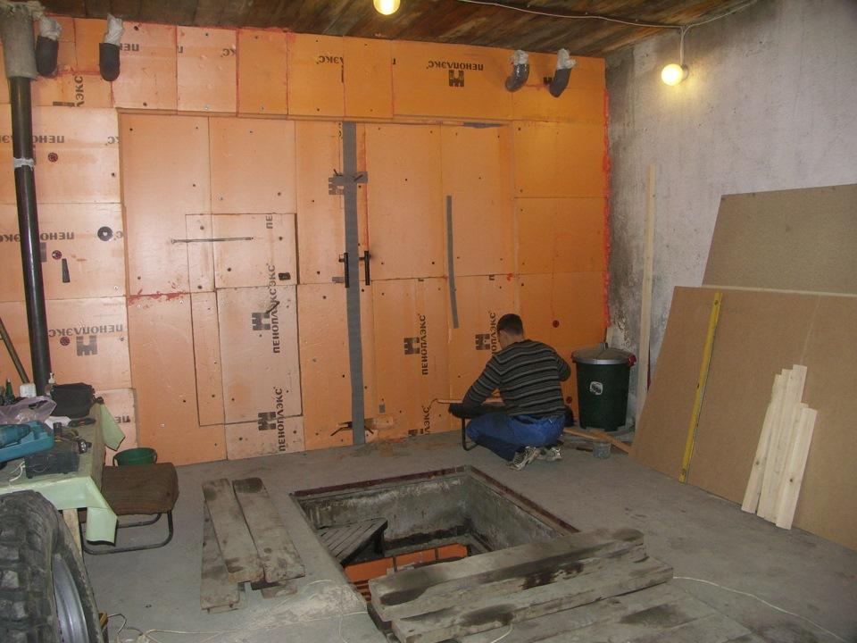 Утеплить металлический гараж своими руками фото 207