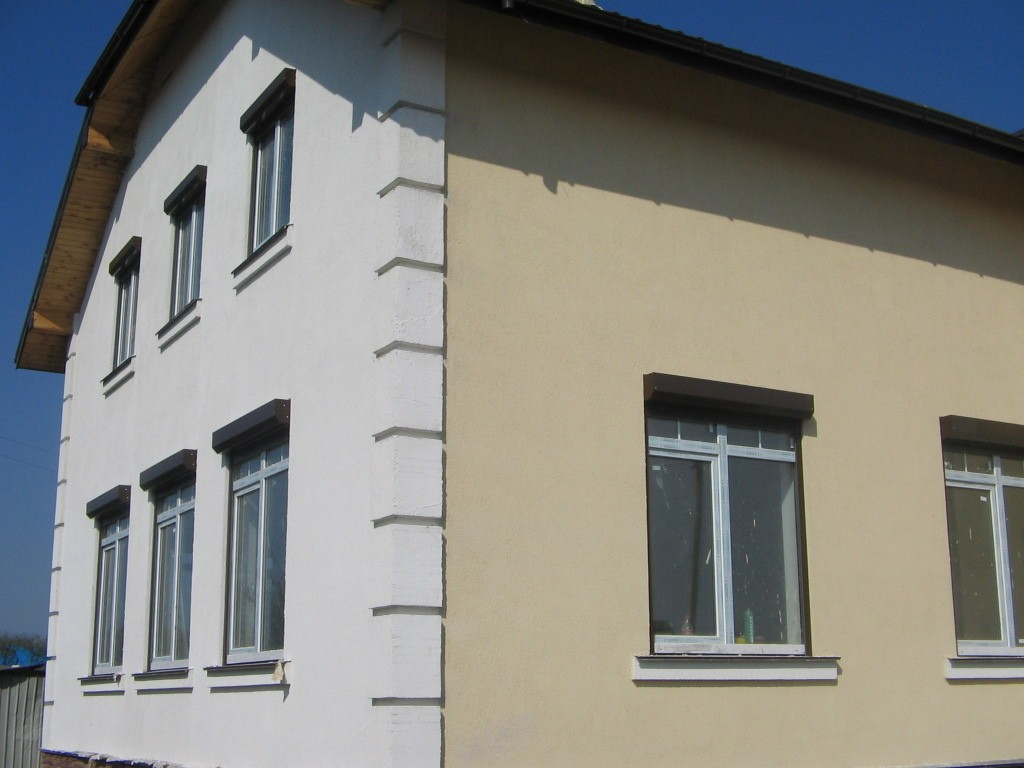 Цена на отделка фасадов пенополистиролом