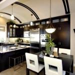 Фото 6: Черно-белый дизайн кухни