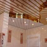 Фото 22: потолок из пластиковых панелей (4)