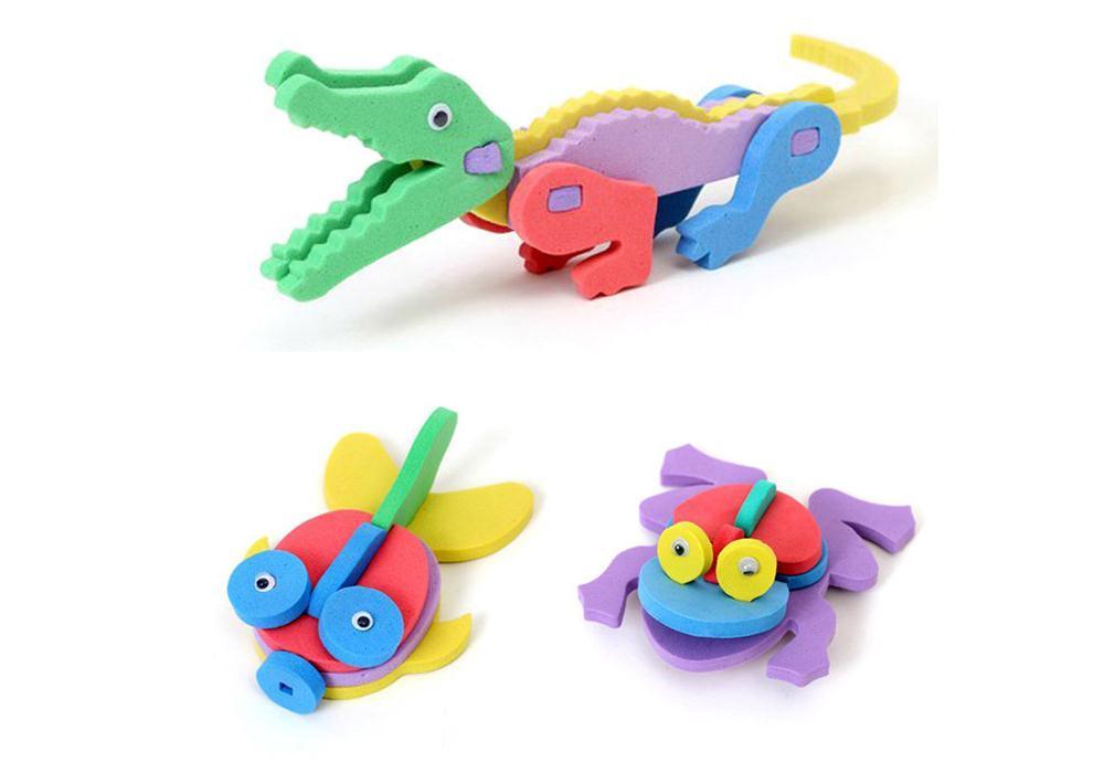 Забавные зверушки, выполненные из фоамирана