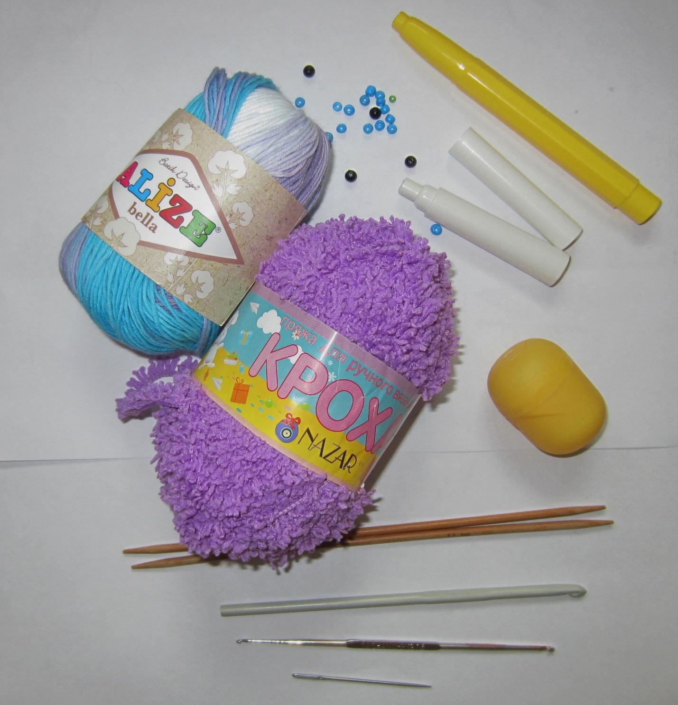 Материалы для вязания игрушек крючком