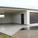 Фото 8: Белый стальной гараж
