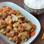 Китайский цыпленок с миндалем