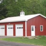 Фото 14: Металлический гараж на три машины
