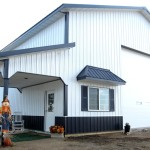 Фото 15: Металлический гараж для грузовика