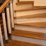 Фото 20: Готовая лестница из лиственницы