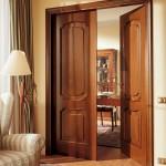 Фото 21: Классические двойные двери