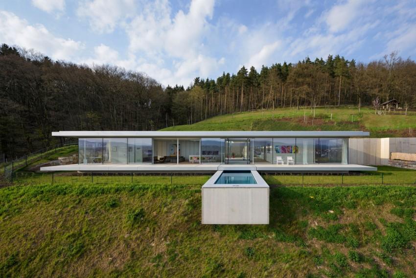 Стеклянный дом в Германии. Идеальная современная вилла