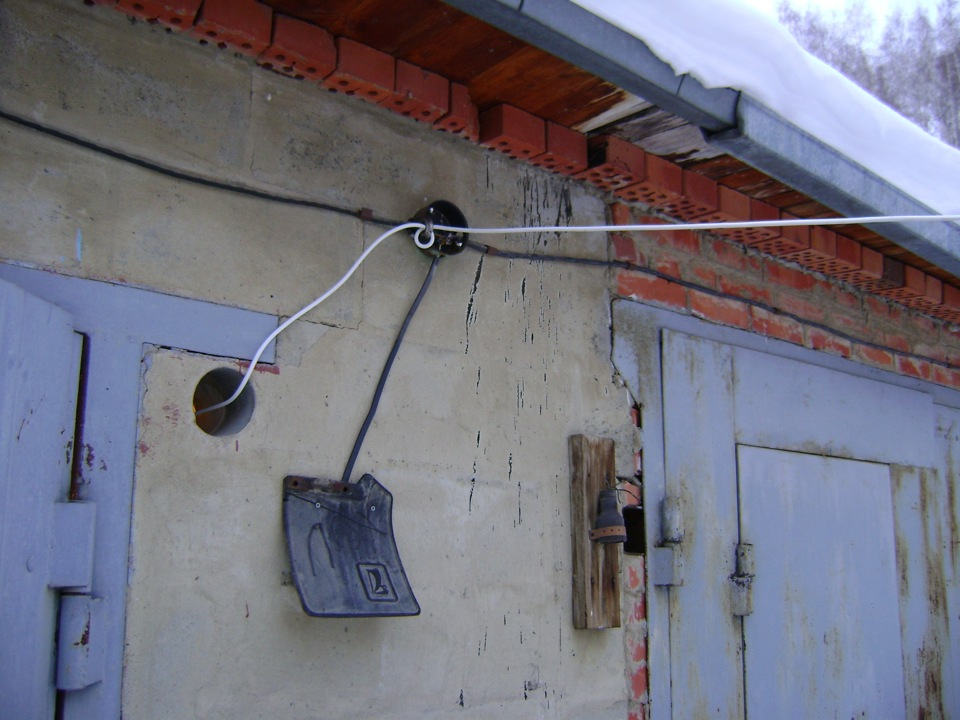Электрика в гараж своими руками 794